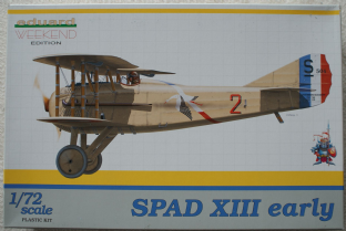Eduard 1/72 7411 SPAD XIII Early Version Weekend